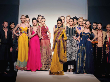 Behind the scenes of the Dubai Fashion Week