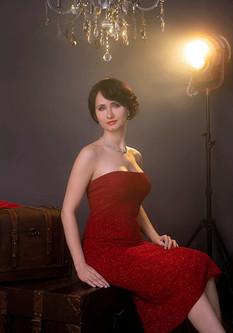 Elegant Woman Portrait