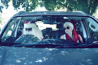 17 Santa Goes On Holiday by Aleksandra Walker