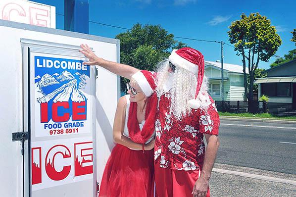 15 Santa Goes On Holiday by Aleksandra Walker