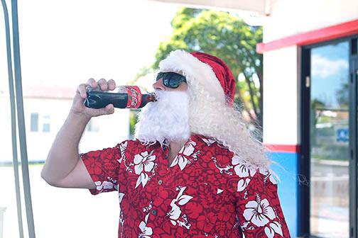 16 Santa Goes On Holiday by Aleksandra Walker