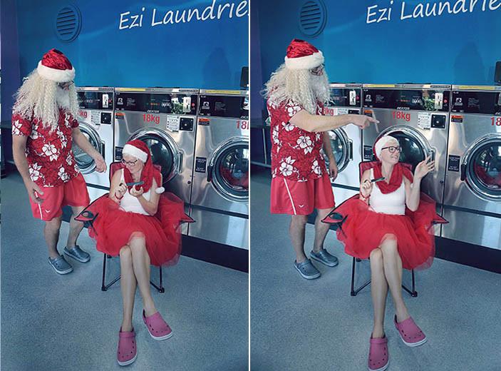 11 Santa Goes On Holiday by Aleksandra Walker