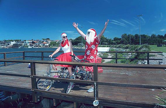 26 Santa Goes On Holiday by Aleksandra Walker
