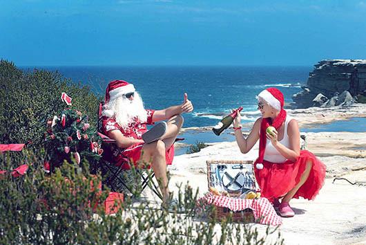 37 Santa Goes On Holiday by Aleksandra Walker