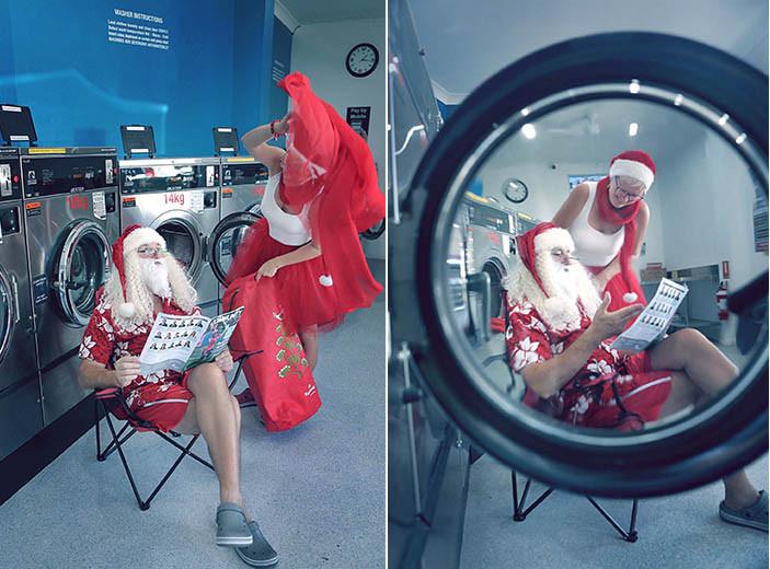 07 Santa Goes On Holiday by Aleksandra Walker