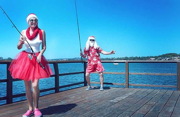 29 Santa Goes On Holiday by Aleksandra Walker