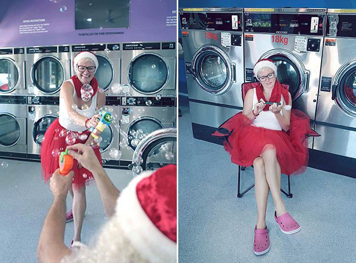 09 Santa Goes On Holiday by Aleksandra Walker