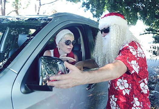 19 Santa Goes On Holiday by Aleksandra Walker