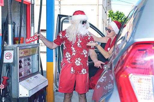 14 Santa Goes On Holiday by Aleksandra Walker
