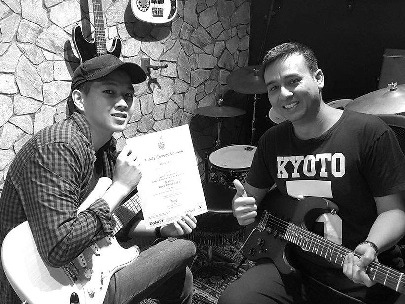Trinity Rock & Pop Certificate
