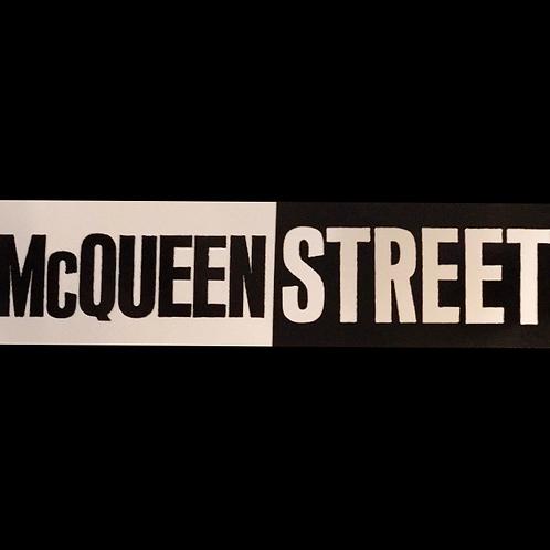 McQueen Street Bumper Sticker