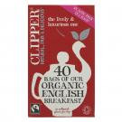 CLIPPER ENGLISH BREAKFAST TEA BAGS - 40 BAGS