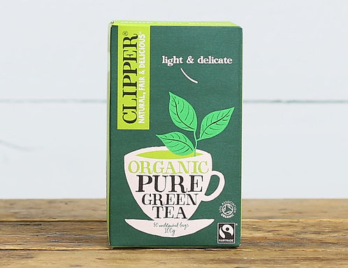 CLIPPER ORGANIC GREEN TEA BAGS