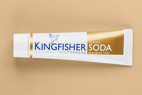 KINGFISHER BAKING SODA TOOTHPASTE - FLUORIDE FREE