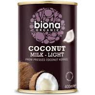 BIONA COCONUT MILK LIGHT