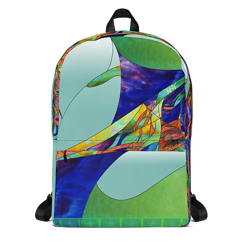 Stained Glass Design BackPack