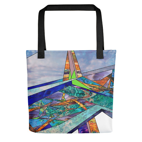 Stained Glass Designed Totes
