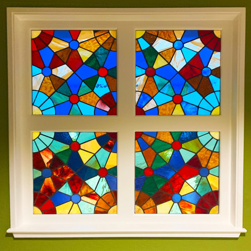 Stained Glass Window , 48 in. x 48 in.