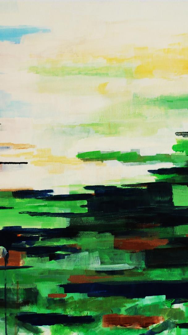 """landscape XV  """"on fire"""""""
