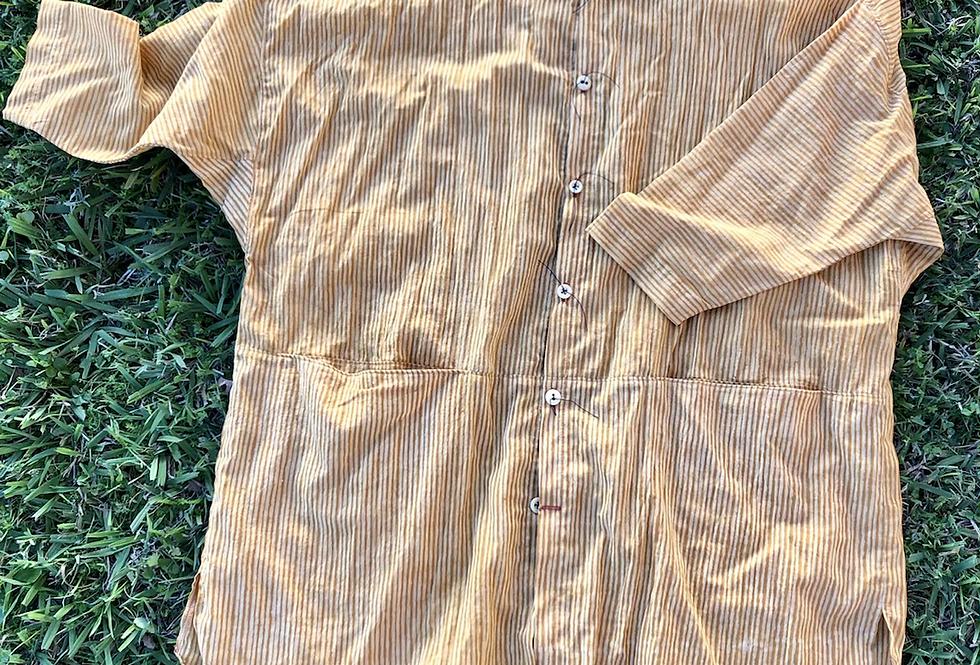 Quarter Shirt, Gold Stripe