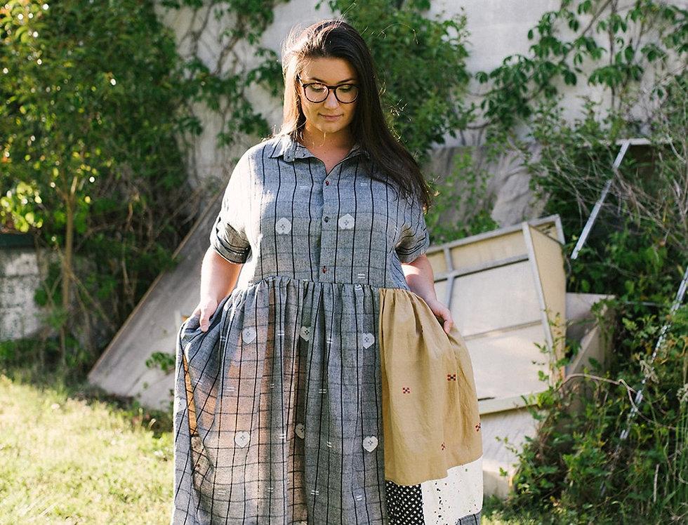 Garden Dress, Grey