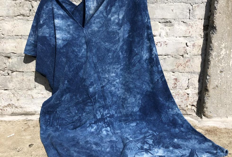 Market Dress, Indigo