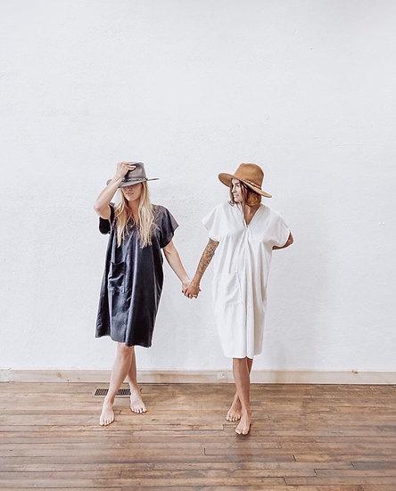 Market Dress, Natural