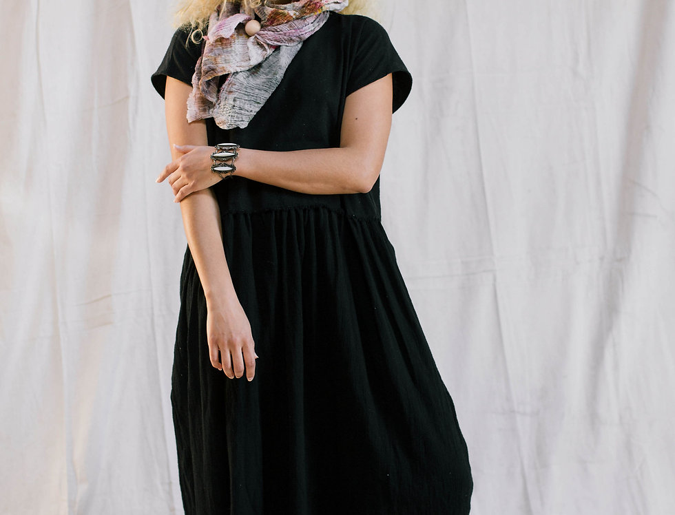 Dark Side Dress, Black