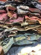 Zero waste sari silk dresses