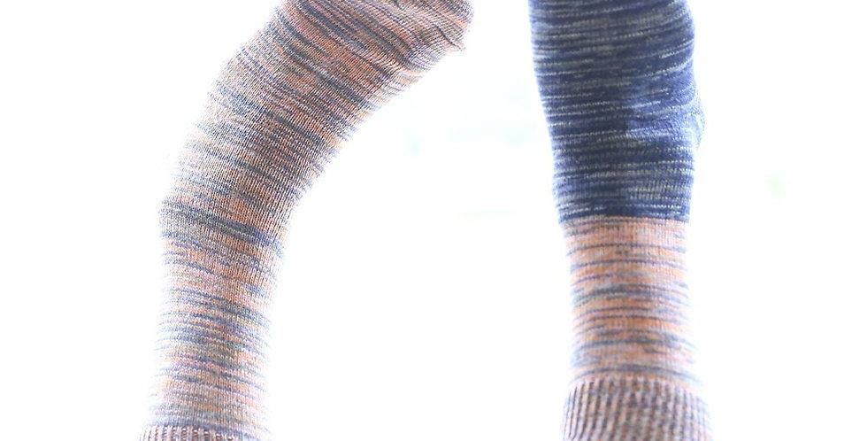 Tamaki Niime Socks, Warm Colors