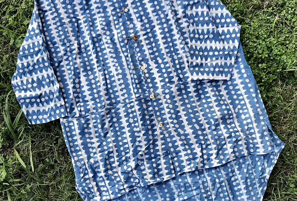 Quarter Shirt, Batik
