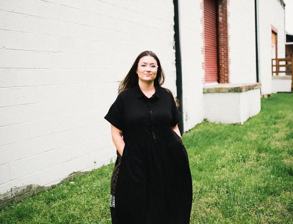 Garden Dress, Black