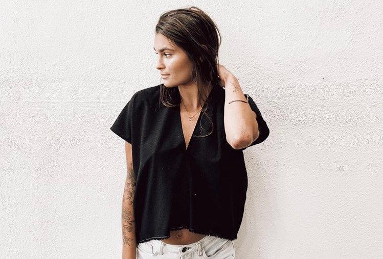 Market Shirt, Black