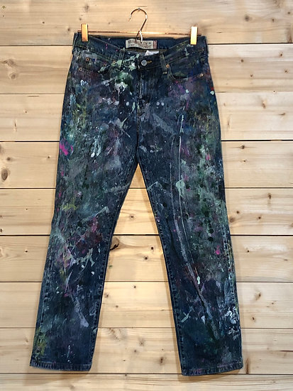 Painted Vintage Jeans, Women's 6S