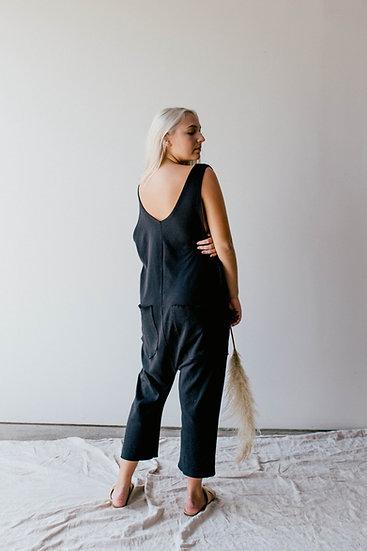 Reverse/Reverse Jumpsuit, Black