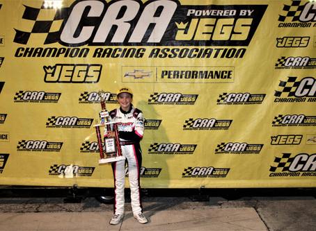 Michigan's Hettinger Becomes Fifth Female Winner with CRA
