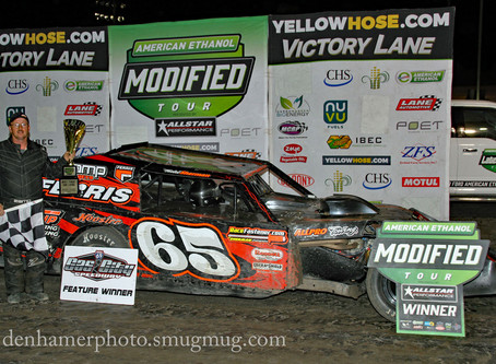 Sherman Holds on for Mod Madness Victory