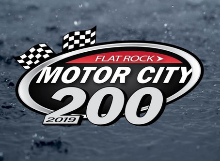 Motor City 200 from Flat Rock Speedway Cancelled