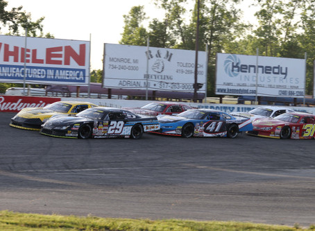 JEGS Tour & CRA Junior Late Models Open Season with Motor City 200 at Flat Rock