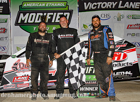 Spalding Dominates GetBioFuel.com 30 at Merritt Speedway