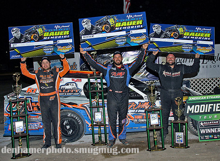 Krup Cruises to Tommie Bauer Memorial Win