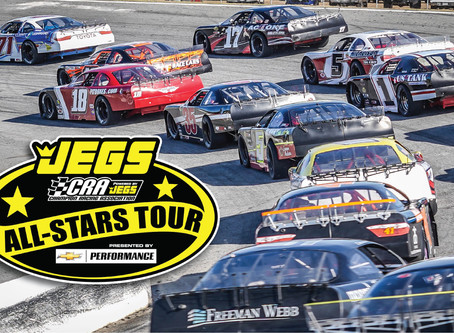 JEGS/CRA All-Stars Tour Season Opener at Flat Rock Speedway This Weekend