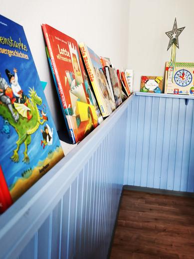 Leseecke im Kindergarten