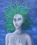 autoportrait, garance Monziès, cicatrice, lumière, ombre, herbe, cheveux, larmes