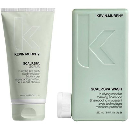 KMScalp Spa Wash & Scalp Scrub Duo