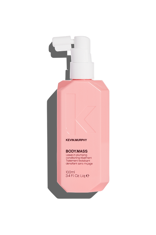 KM Body Mass Leave in Plumping Treatment for Thinning Hair 3.4 oz