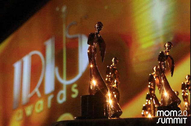 """2017 Winner """"Most Entertaining Writer"""" at Iris Awards"""
