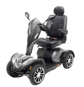 Cobra 8mph Scooter - Silver (Batteries Not Included)