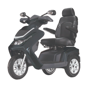Royale 3 Wheel Scooter - Black (Batteries Not Included)
