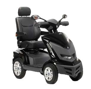 Royale 4 Wheel Scooter - Black (Batteries Not Included)